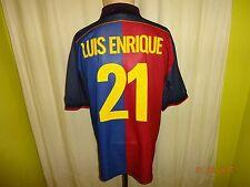 Fc Barcelona original aniversario camiseta 1899-1999 + nº 21 luis enrique  talla XL 15eef816be6