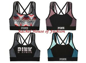 Victoria's Secret PINK Ultimate Pocket Strappy Sports Bra NIP