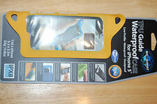 sea to summit tpu guide waterproof case for iphone 5 4 4s 3g 3gs yellow