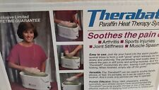 Therabath Paraffin Heat Therapy System Model TB5 - never used
