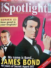 JAMES BOND + 007 + 2002 + SPOTLIGHT + SEAN CONNERY + PIERCE BROSNAN +