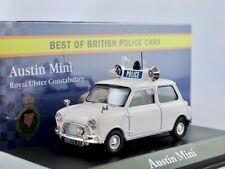 Austin Mini  --       British POLICE Car   /    IXO / ATLAS   1:43