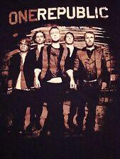 OneRepublic One Republic Fall Concert Tour 2010 Rock Soft Black T Shirt M