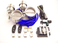 RSR Klappenauspuff 70mm Dual Unterdruck ZU + Fernbedienung 2,75 Klappensteuerung
