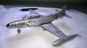 Heller 1:72 gebaut/gesupert Lockheed F-94 B aus Sammlungsauflösung
