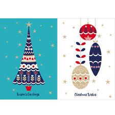 Help For Heroes Christmas Card Pack (Medium) - Oh Christmas Tree (5 of Each)