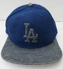 New Era MLB 9fifty LA Los Angeles Dodgers SnapBack Baseball Cap Blue / Grey New