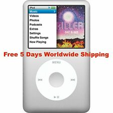Apple iPod Classic 6th 7th Generation 80GB 120GB 160GB Fast Free Worldwide Ship