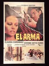L'ARMA * THE SNIPER * CLAUDIA CARDINALE SATTA FLORES* ARGENTINE 1sh MOVIE POSTER