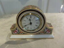 WEDGWOOD CLIO SMALL MANTLE CLOCK  in working order