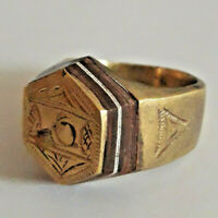 ARTIFACT ANCIENT LEGIONARY ROMAN BRONZE RING SUITABLE FOR WEARING WORLDWIDE
