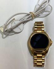 Authentic Michael Kors MKT5001 Access Bradshaw Smartwatch DW2c Gold Tone