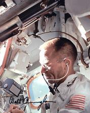 (SSG) WALT CUNNINGHAM Apollo, NASA Signed 8X10 Photo - PSA/DNA Full Letter COA