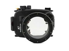 UK Store! CameraPlus® 40M Underwater Diving Housing for Sony A7 A7R 28-70mm Lens