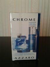 PARFUM AZZARO CHROME EAU DE TOILETTE POUR HOMME VAPO 100 ML + SPRAY 150 ML