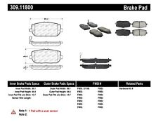 StopTech 309.11800 StopTech Sport Brake Pads Fits 124 Spider MX-5 MX-5 Miata