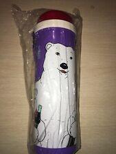 "Rare* Vintage 90s Coke Coca Cola Bear Purple Canteen Bottle ""New"""