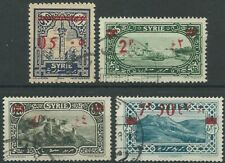 Syrien Syria 1928 used Mi.309/12 Freimarken Definitives Gebäude Building (gc098)