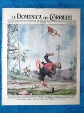 La Domenica del Corriere 13 aprile 1947 Toscana - Roma - Montecassino