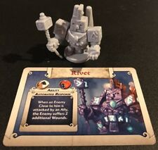 RIVET - Arcadia Quest Inferno Kickstarter Exclusive Hero