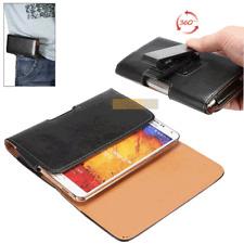Etui Horizontal Clip Ceinture 360° Noir / SAMSUNG Galaxy Note 3 Neo, Note 3 Lite