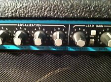 Peavey Teal Stripe Bandit Solid State Combo