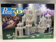 Puzz 3D Puzzle CAMELOT 620 pieces  Milton Bradley 1995 *untested For Piece Count