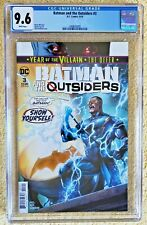 Batman and the Outsiders #3 CGC graded 9.6 NM+ Sep 2019 DC Comics Kirkham cover