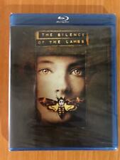 THE SILENCE OF THE LAMBS JODIE FOSTER ANTHONY HOPKINS BLU-RAY U.S REGION A