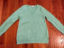 women's motherhood maternity green sweater sz. large. EUC!