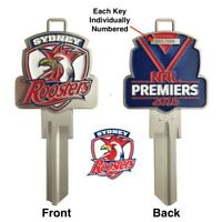 Sydney Roosters 2018 Premiers LIMITED EDITION House Key Blank-NOW IN STOCK!