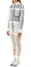 Nike Air Futura Women Jumpsuit Flight Suit See Through White BV4739 010 Small