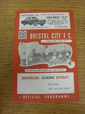 20/09/1960 Bristol City v Notts County  . Thanks for viewing our item, we do our