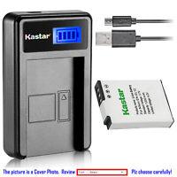 Kastar Battery LCD Charger for Nikon EN-EL12 & Nikon Coolpix S9600 Coolpix S9700