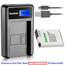 Kastar Battery LCD Charger for Nikon EN-EL12 Nikon Coolpix S710 Coolpix S1200pj