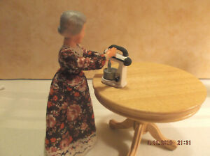 Wooden Ooak 1 12 Dollhouse Furniture Room Items For Sale Ebay