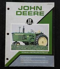 "John Deere ""3010 3020 4000 4320 4010 4020 4520 5010 6030"" Tractor It Shop Manual"