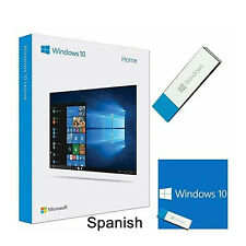 BRAND NEW Microsoft Windows KW9-00506 10 HOME 32/64 Bit USB Flash Drive *SPANISH