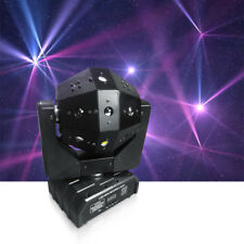 16 Triple Soccer 3in1 LED Beam Laser Moving Head Stage Light American Disco DJ