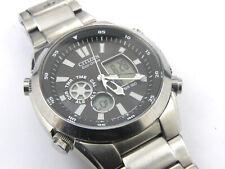 Gents Citizen Eco-Drive U200 Ana / Digi Multifunction Watch - 100m1