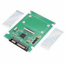 "1.8"" CE ZIF / LIF HDD DISCO RIGIDO A 7 +15 PIN SATA ADATTATORE CONVERTITORE CARD NEW"