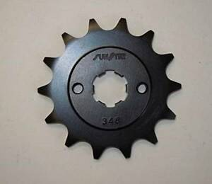 Sunstar 12T Steel Countershaft Sprocket for Honda 2003-17 CRF150F (34812)