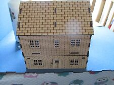 28mm Brick house Garage Shed and walls 3mm MDF Wargame Scenery Buildings