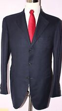 Pal Zileri Sartoriale Navy Blue Cashmere Silk Three Button Sport Coat 44 L