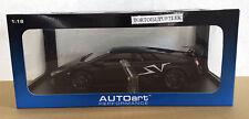 AUTOart Lamborghini Murcielago LP670-4 SV 2009 Matt Black Diecast Car 1:18
