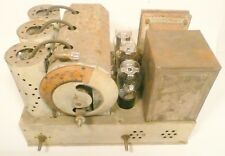 vintage * CLARION JR AC-60  CATHEDRAL RADIO part:  UNTESTED CHASSIS w/ 6 TUBES