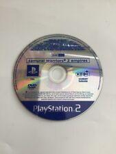 Samurai Warriors 2: Empires Promi solamente! disco! Sony PlayStation 2) PAL