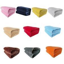 Mink Flannel Fleece Blanket Soft Plush Warm Bed Sofa Throw Blanket 70*50cm U0Q6