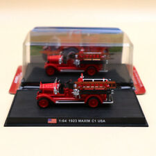 Amercom 1923 Maxim C1 USA Fire Engine 1:64 Diecast Models Edition Collection Red