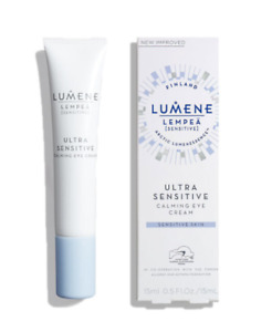 Lumene Eye Cream Soothing Hydrates Sensitive Skin Glycerin Regenerates Nourishes
